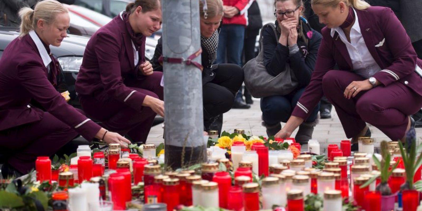 4. El avión cayó en los Alpes Franceses. Foto:AFP