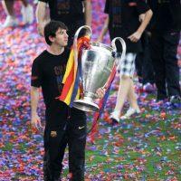 A nivel internacional tiene tres Champions League (2006, 2009 y 2011). Foto:Getty Images