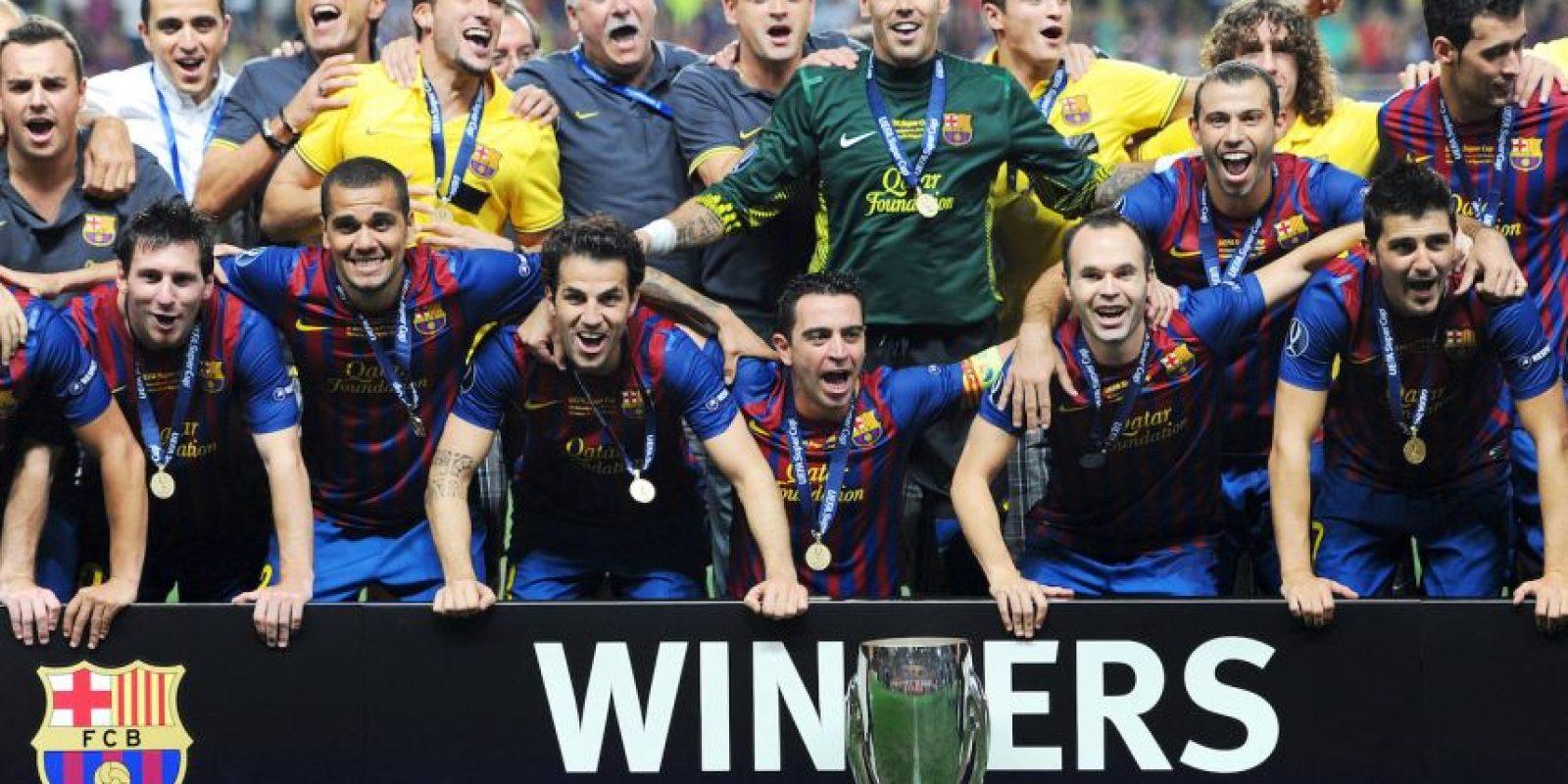 Dos Supercopa de Europa (2009 y 2006), y dos Mundiales de Clubes (2009 y 2011). Foto:Getty Images