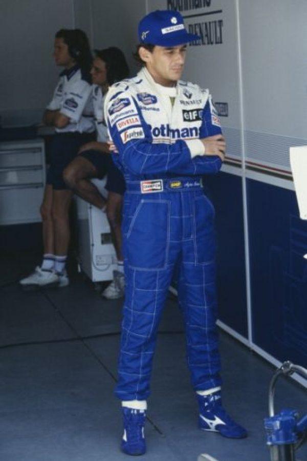 """Pero no todas estas historias tuvieron """"finales felices"""": El 1 de mayo de 1994, el mítico piloto brasileño, Ayrton Senna, perdió la vida durante el Gran Premio de San Marino. Foto:Getty Images"""