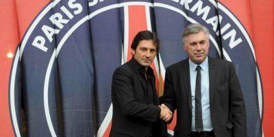 Antes de llegar al Real Madrid, Ancelotti dirigió al PSG. Con ellos, se coronó en la Ligue 1 de Francia en la temporada 2012-2013. Foto:Getty Images
