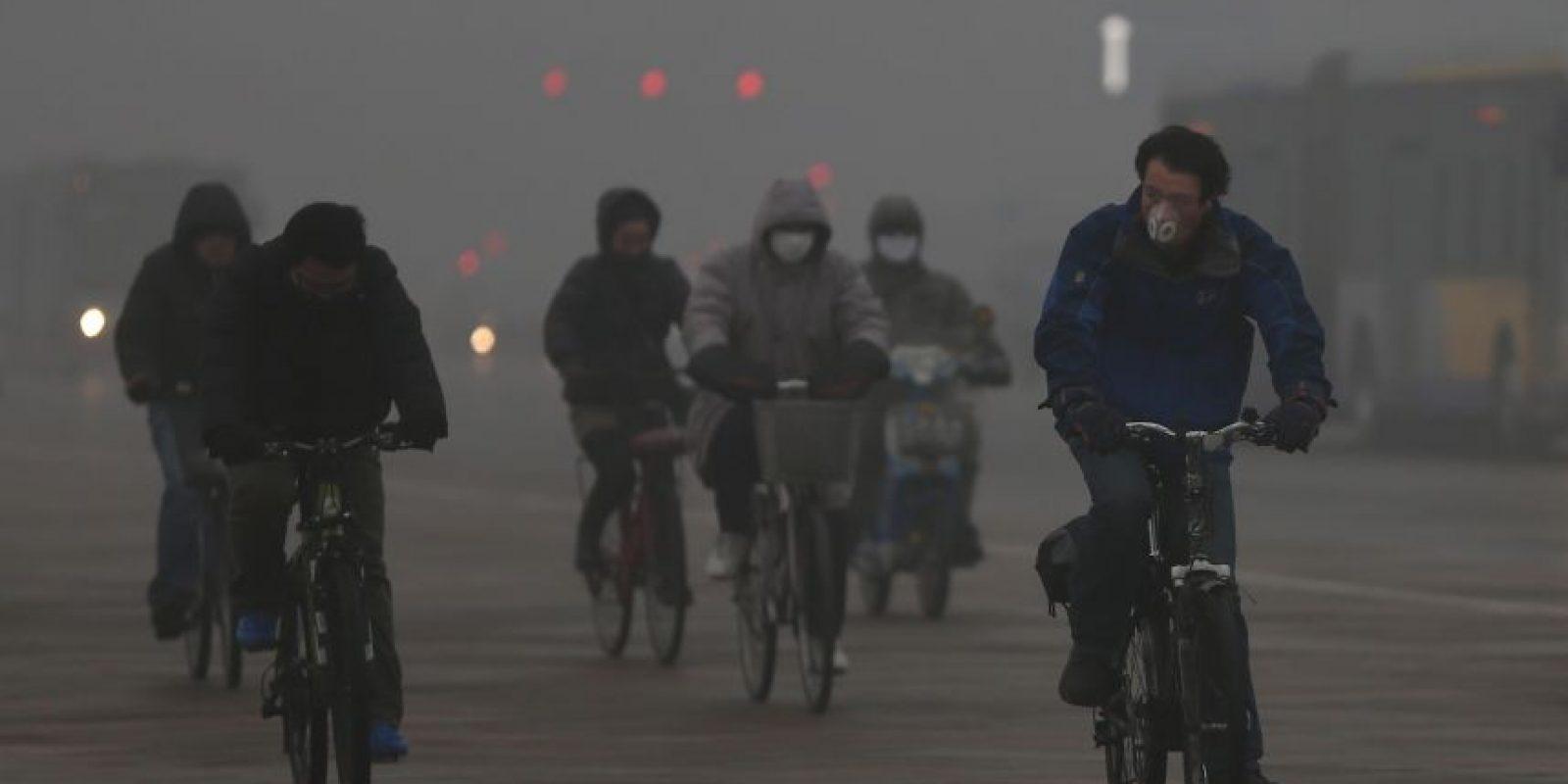 3. Hay una conexión muy directa entre los cambios ambientales que surgen del calentamiento global y las grandes amenazas a la salud. La emisión de dióxido de carbono y otros contaminantes son causantes de que aproximadamente siete millones de personas mueran prematuramente en el mundo cada año. Foto:Getty Images