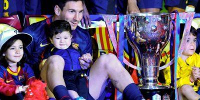 Con el Barcelona ha ganado seis veces la Liga de España (2005, 2006, 2009, 2010, 2011 y 2013) Foto:Getty Images