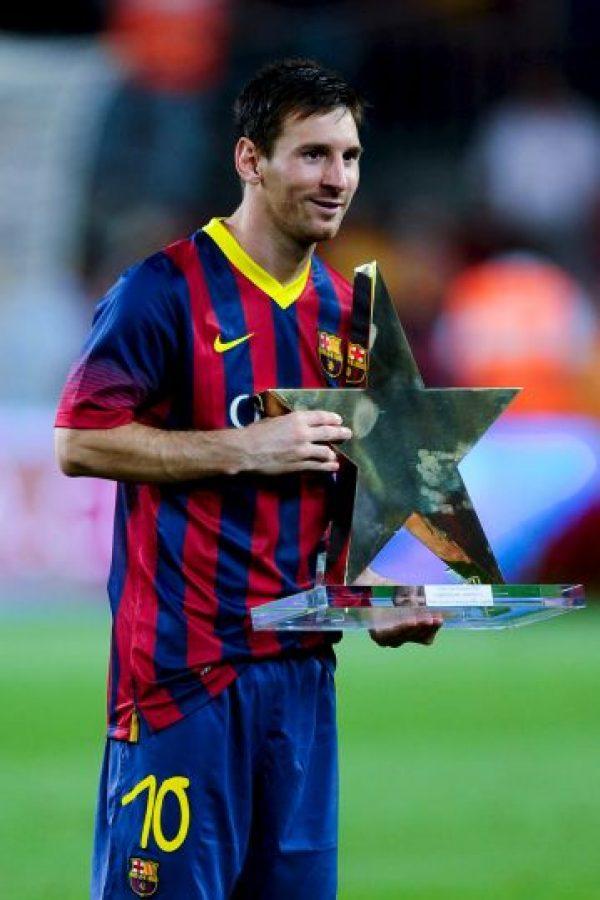 Con 10 años de carrera, Messi ha marcado alrededor de 400 goles a nivel de clubes. Foto:Getty Images