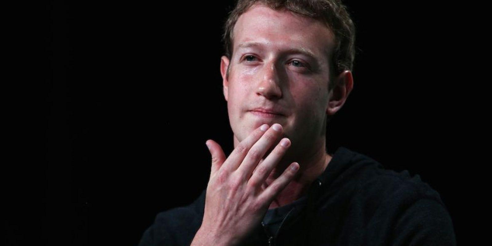 Según Mark, solamente 2.7 mil millones de personas en el planeta tienen acceso a internet. Foto:Getty Images