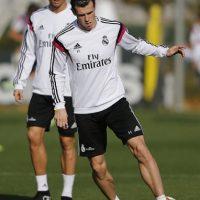 """En duelo ante Levante, Cristiano mostró su enfado cuando Bale marcó un gol tras una serie de rebotes que se habían originado por una """"tijera"""" suya que un defensa rival sacó de la línea. Foto:Getty Images"""
