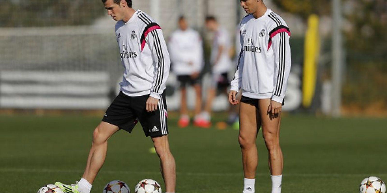 Aquí les dejamos varios momentos que dejan en evidencia la falta de conexión de ambos futbolistas. Foto:Getty Images