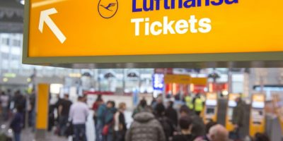 Lufthansa perdió un 29%en la Bolsa de Francfort Foto:Getty Images