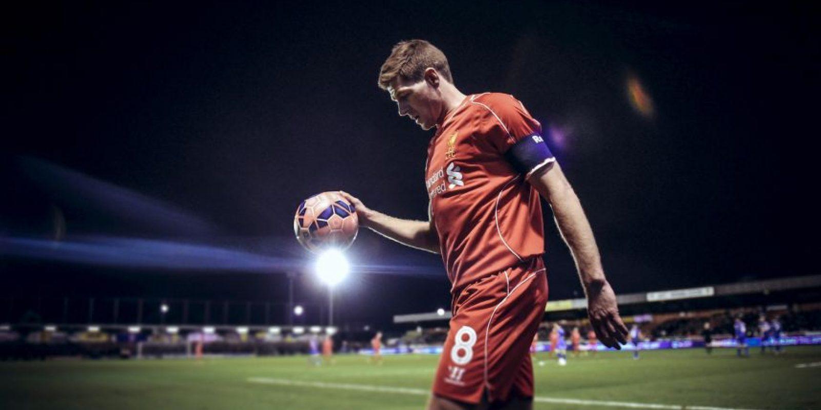 El líder del Liverpool, Steven Gerrard, también fue tomado en cuenta para la lista Foto:Getty Images