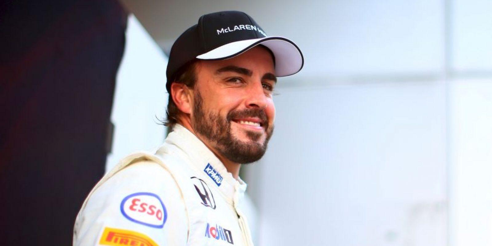En las pruebas, previo al arranque de la temporada 2015 del Mundial de Fórmula 1, Fernando Alonso, piloto de McLaren, sufrió un accidente en el circuito de Montmeló en Barcelona. Foto:Getty Images