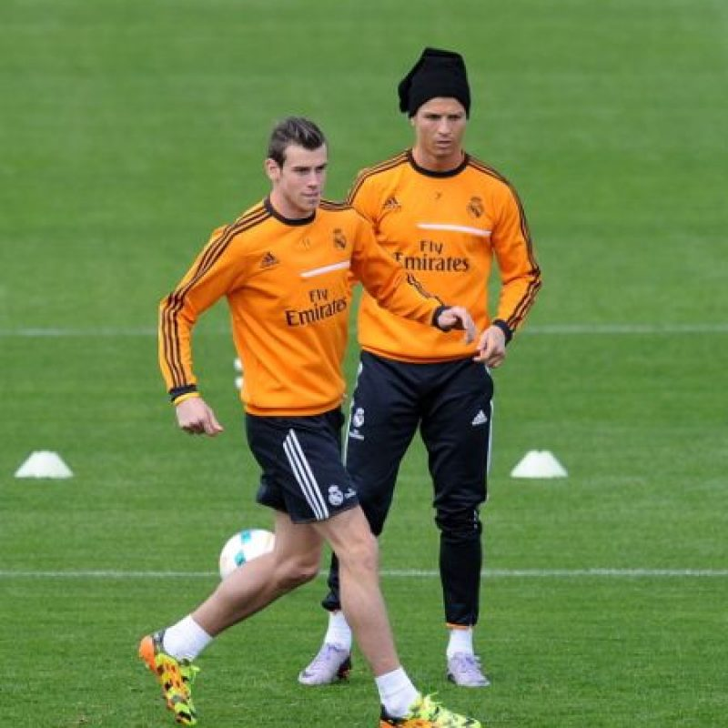En 2014, frente al Celta de Vigo, Cristiano se molestó dos veces con Bale por dar malos centros. Foto:Getty Images