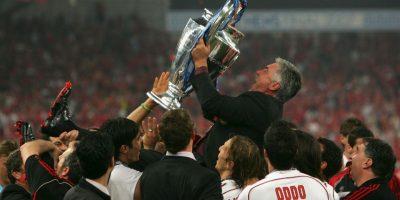 Comenzó a ganarse un nombre en el mundo del fútbol como DT del Milán, equipo que dirigió entre 2001 y 2009. Con ellos ganó una Liga, Copa y Supercopa de Italia, dos Champions League, dos Supercopa de Europa y un Mundial de Clubes. Foto:Getty Images