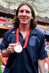 Integró la Selección Olímpica que ganó la medalla de oro en Beijing 2008. Foto:Getty Images