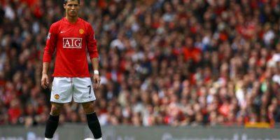 Cristiano Ronaldo lidera el mediocampo Foto:Getty Images