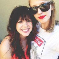 Morgan, la doble de Taylor Swift Foto:Tumblr @nevergooutofstyle