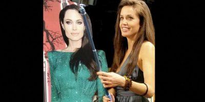 Lina Sands es una actriz española que trabaja como la doble de Angelina Jolie Foto:Facebook/Lina Sands