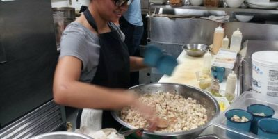 Así se prepara el ceviche en La Fisheria. Foto:La Fisheria