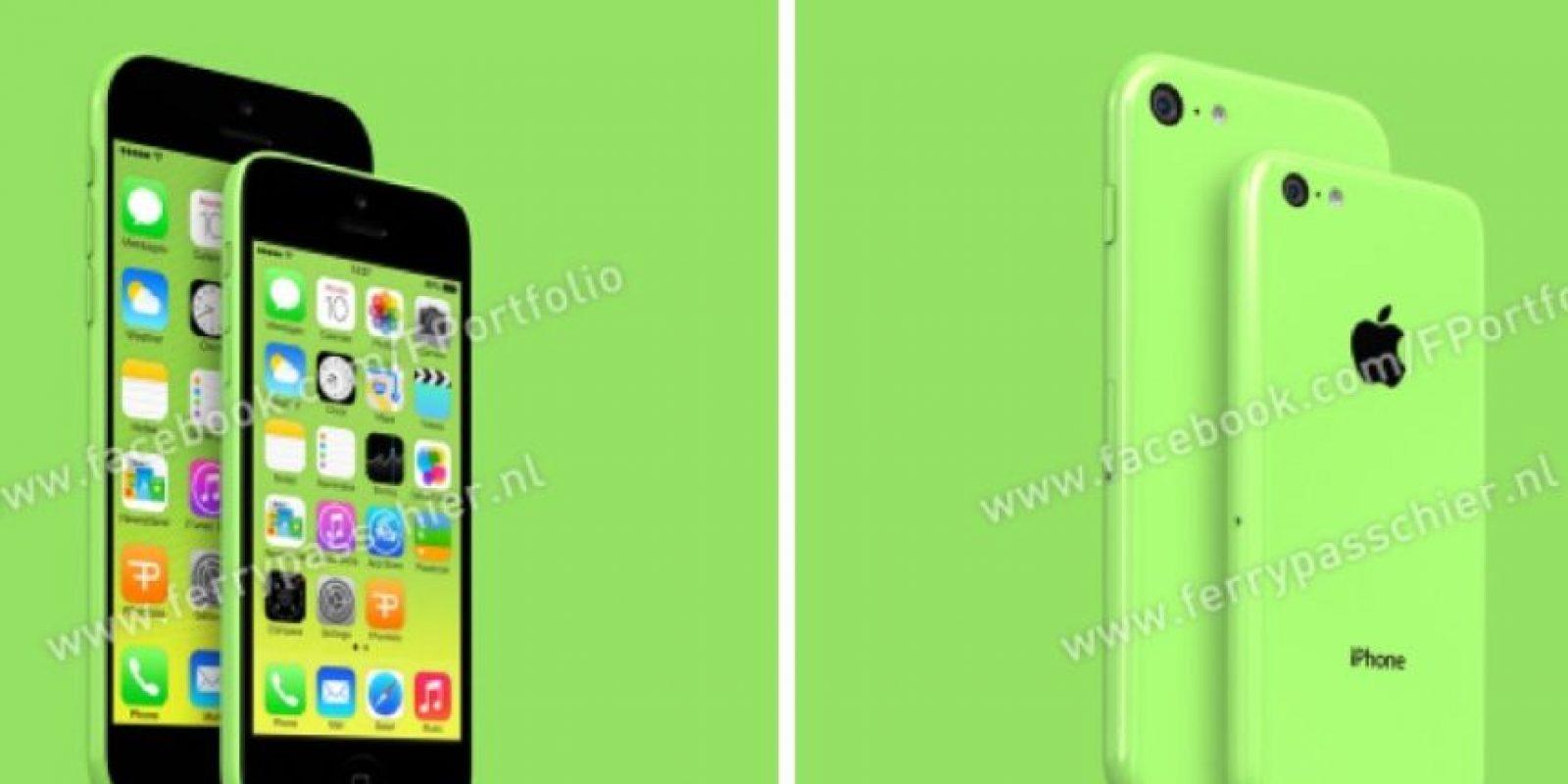 De esta forma podría lucir el iPhone 6c. Foto:facebook.com/FPortofolio