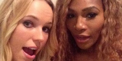 Serena Williams con Caroline Wozniacki Foto: Instagram: @serenawilliams