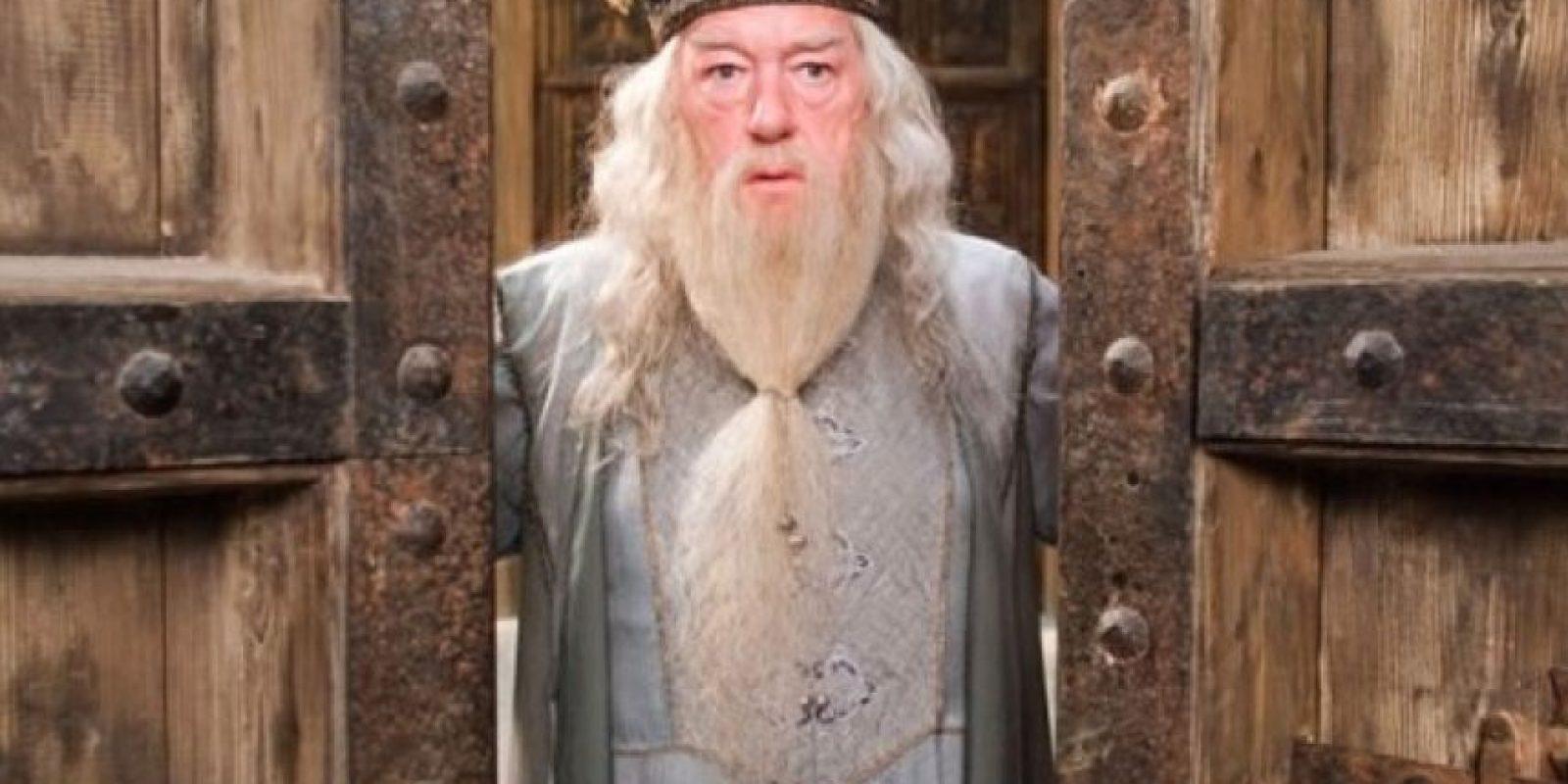 Dumbledore, director del Colegio Hogwarts. Foto:Facebook Harry Potter