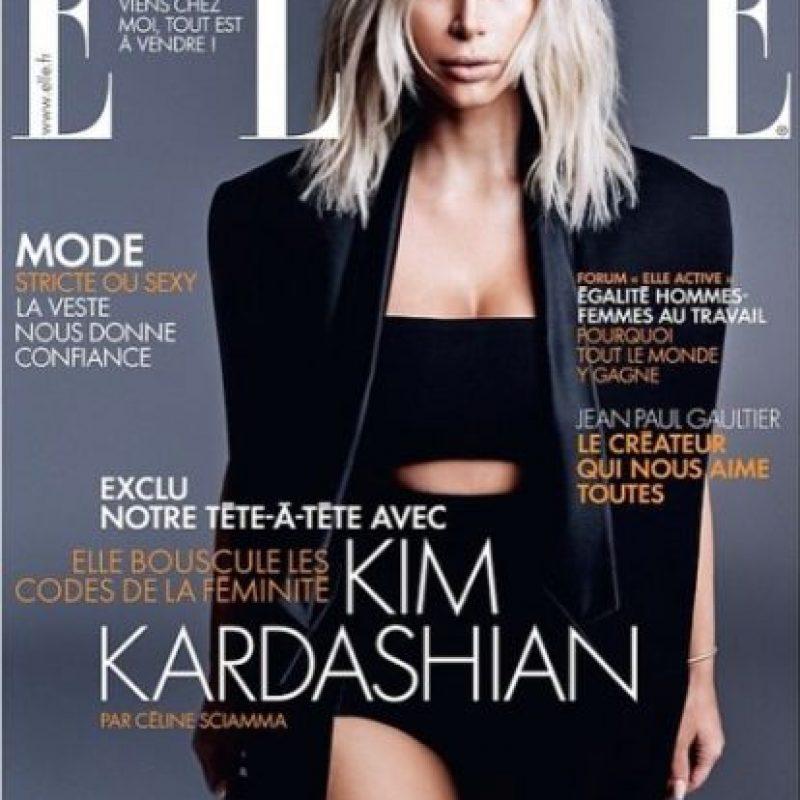 Revista Elle Francia Foto:Instagram KDC