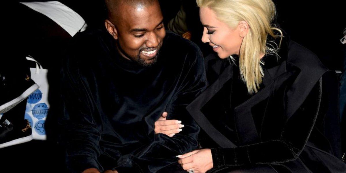Kim Kardashian y Kanye West tienen paparazzi personal