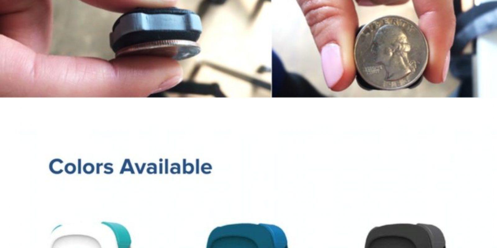 Revolar es más pequeño que una moneda y viene en diferentes presentaciones. Foto:Revolar