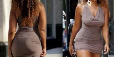 14. Que sea el vestido que sea, si viene pegado al cuerpo, terminará arriba. Foto:Instagram