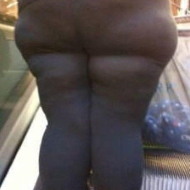 3. Que al ponerse leggings ajustados se salgan algunas partes que no son deseadas. O que piensen que se ven así. Foto:Pinterest.