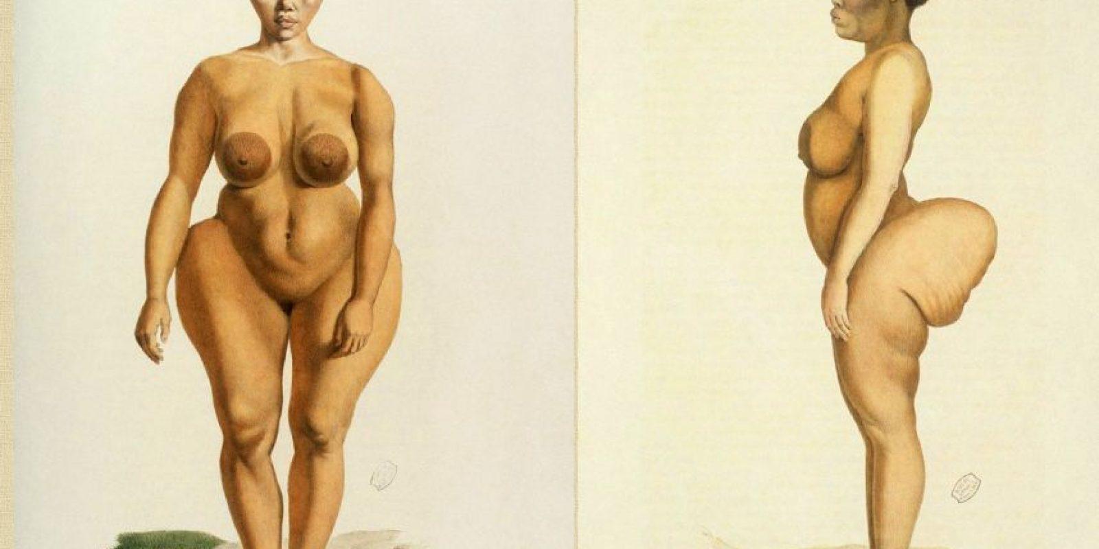 """9. O que hagan chistes desagradables usando la imagen de la pobre Saartjie Baartman, la """"Venus Negra"""". Foto:Wikipedia."""