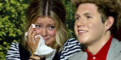Tranquila, Niall tampoco saldrá corriendo. Foto:Getty Images