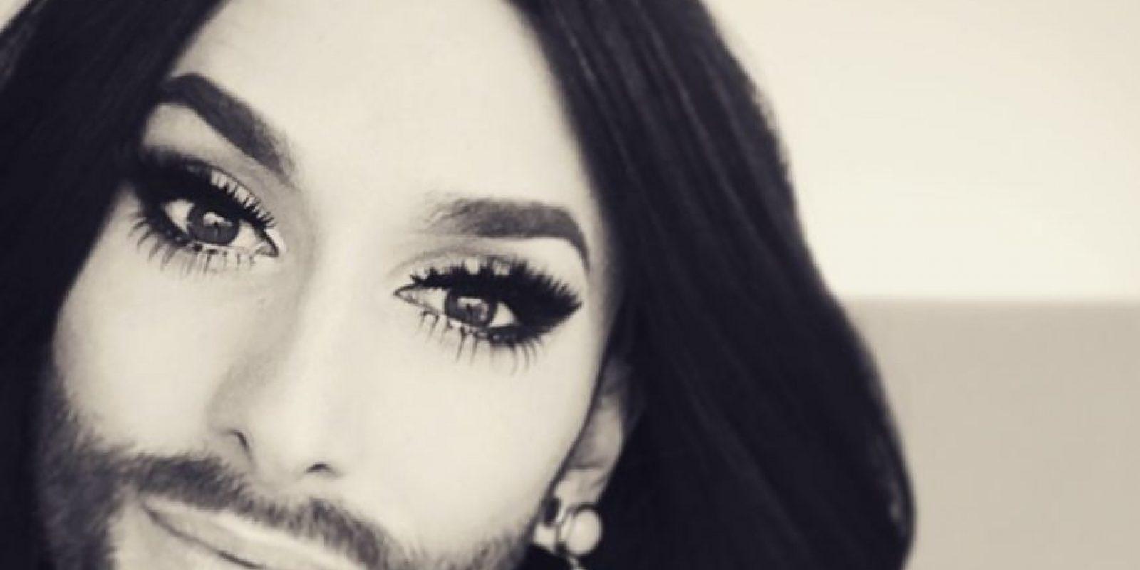 ¡Vean a Conchita Wurst! Foto:Instagram