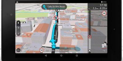Versión para tablet Foto:TomTom International BV