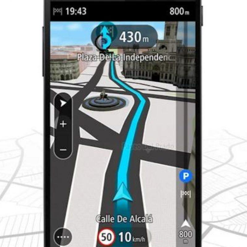 Versión para smartphone Foto:TomTom International BV