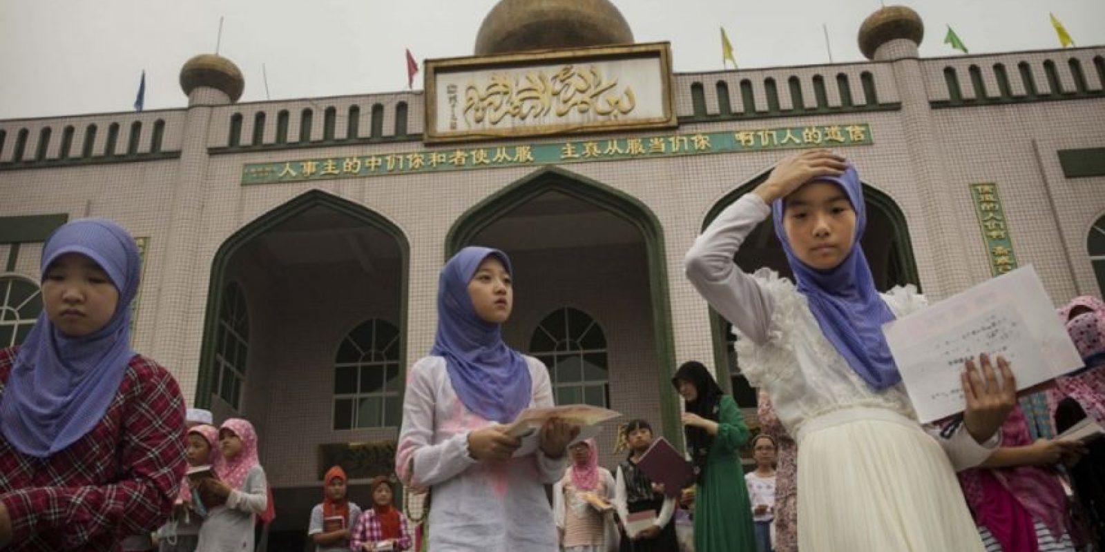 En Francia trataron de imponer la no utilización del hijab en las escuelas. Foto:Getty Images