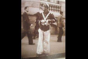 Antoñín o 'El Bobo del Tranvía' fue uno de los personajes más celebres de la Bogotá de los años 40.