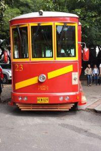 HAsta 25 personas puede llevar en cada viaje esta moderna versión del Tranvía de Bogotá. Foto:Hernán Moreno / Publimetro