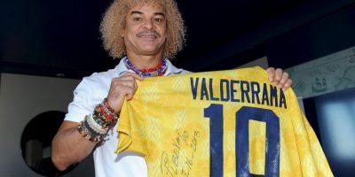 """Carlos Valderrama, mejor conocido como """"El Pibe"""". Foto:Getty Images"""