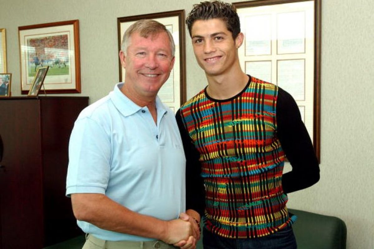 Quien sí lo quiso en su equipo de manera inmediata fue Alex Ferguson, que lo llevó en 2003 al Manchester United. Foto:Getty Images