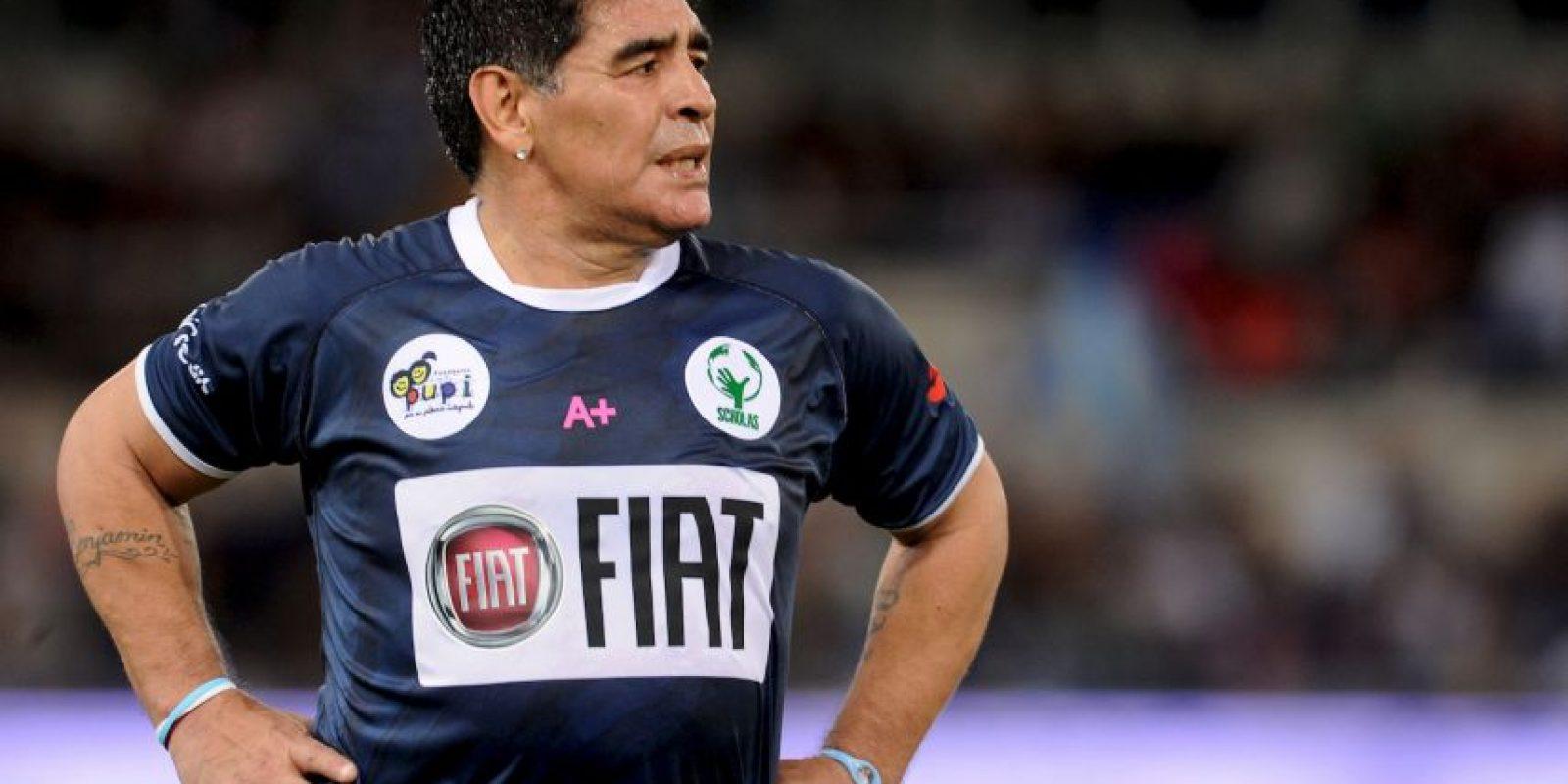 Diego Maradona encabeza la lista de invitados de lujo para este partido. Foto:Getty Images