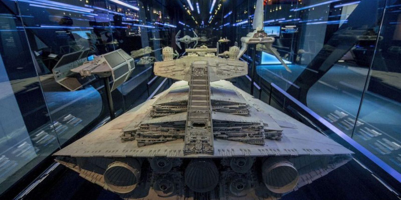 Esta es una versión escala de la nave. Foto:Getty