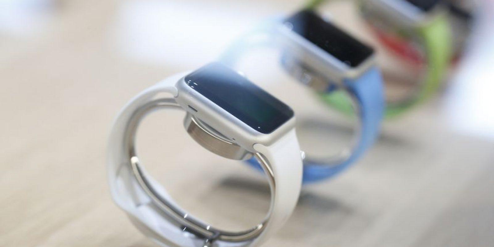 Estados Unidos y Canadá son los únicos países en América que recibirán el Apple Watch. Foto:Getty Images