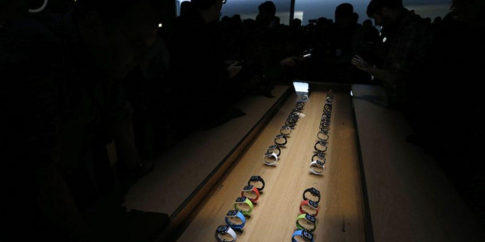 El precio del Apple Watch Edition, con oro de 18 kilates, empieza desde los 10 mil dólares. Foto:Getty Images