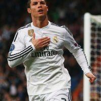 El astro portugués del Real Madrid se consagró como estrella del futbol internacional jugando para el Manchester United. Foto:Getty Images