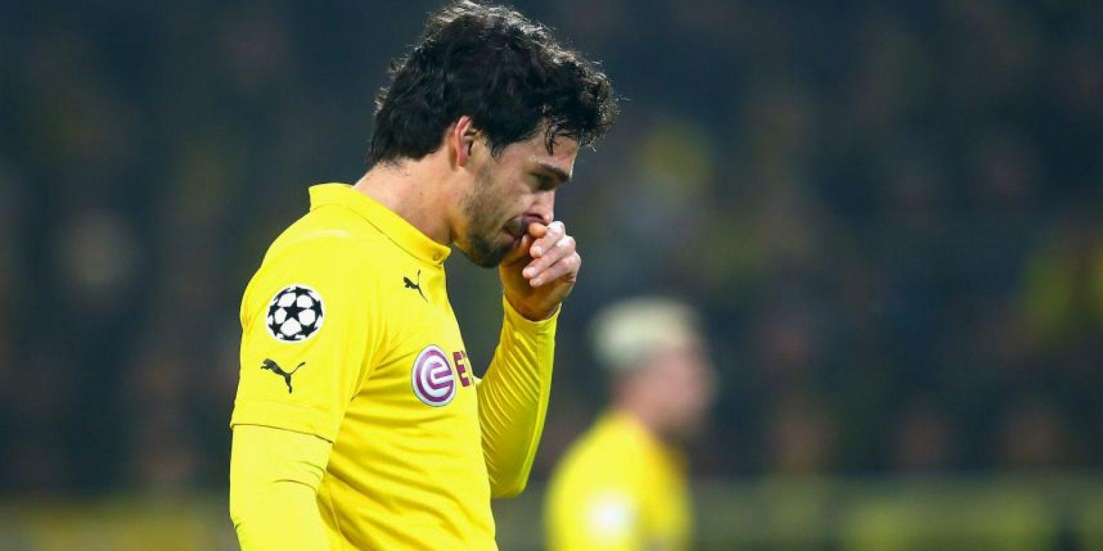 Mats Hummels es un defensa alemán que juega para el Borussia Dortmund de la Bundesliga. Foto:Getty Images