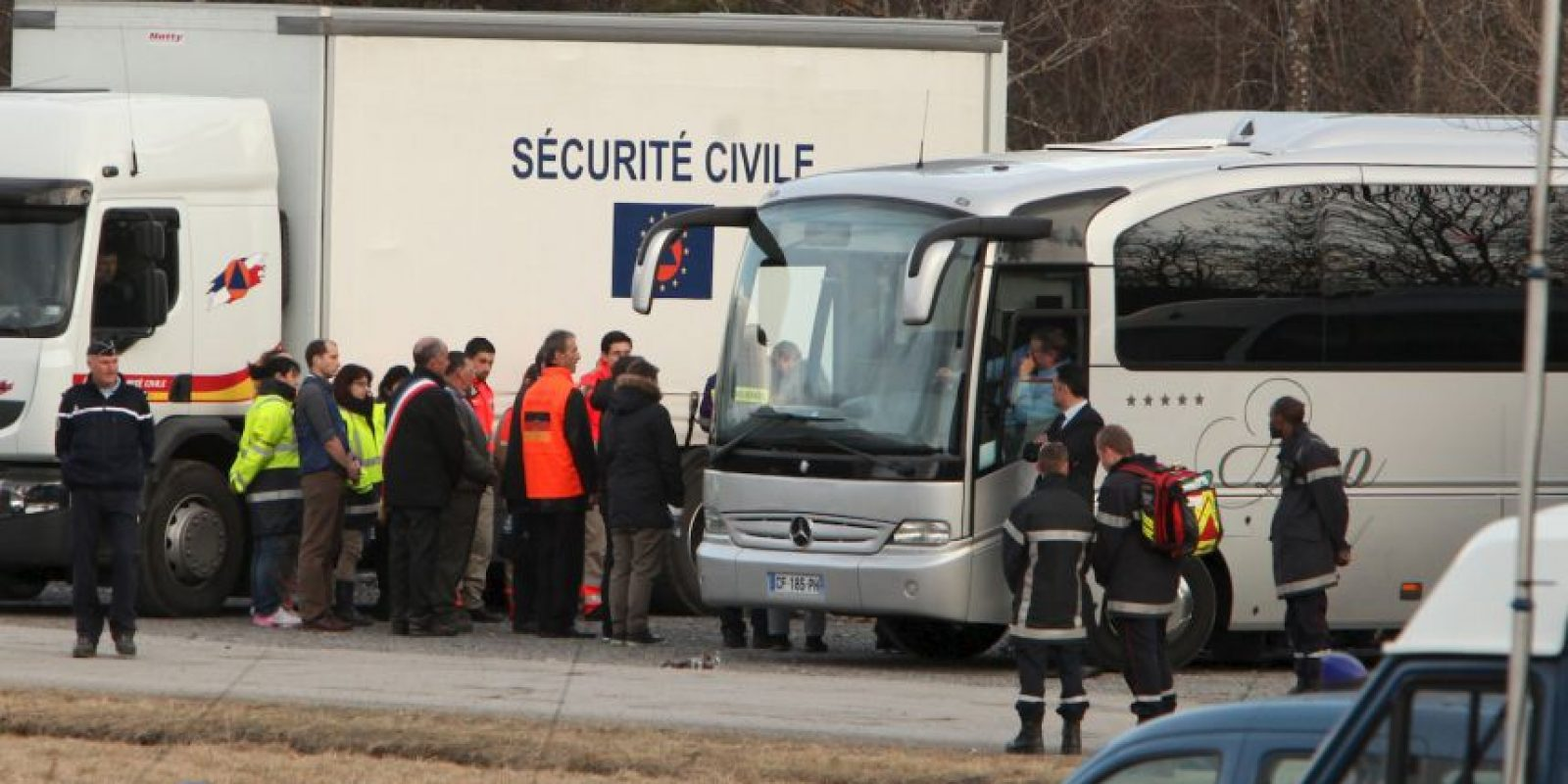 En el avión volaban 144 pasejeros y seis tripulantes. Las autoridades francesas confirmaron que nadie sobrevivió tras el impacto. F Foto:Getty Images