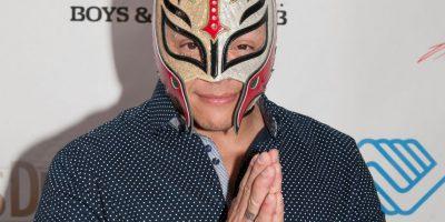 Rey Mysterio, de nombre real Óscar Gutiérrez Rubio, es un luchador mexicano. Participa en la Triple A, pero antes trabajó en la WWE. Foto:Getty Images