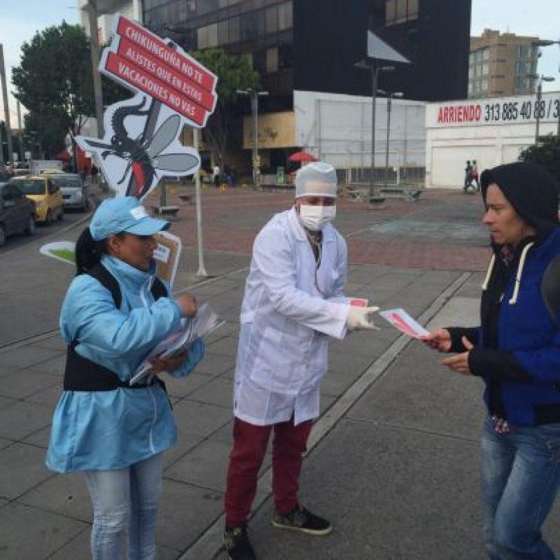 Actividades del MinSalud para hacer conciencia del tema. Foto:Cortesía Publimetro