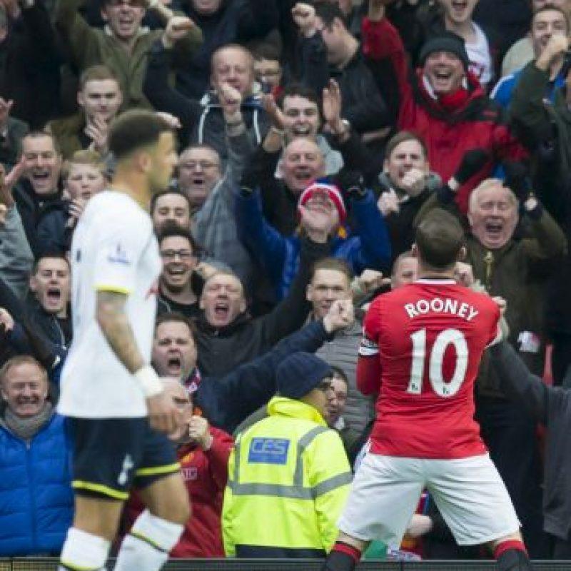 Después de marcar un gol al Tottenham Foto:Getty Images