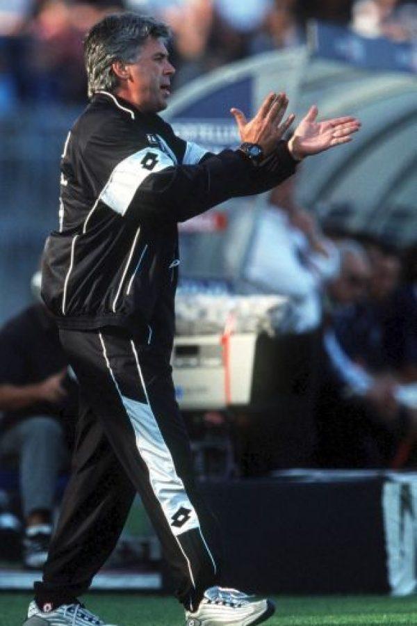 Carletto en 2000 como timonel del Milán Foto:Getty Images